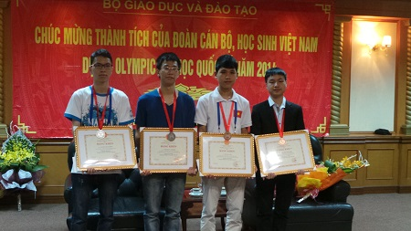 Another Orchid Alumnus Wins International Olympiad in Informatics Medal